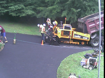 Gail Court Driveway and Road Re-Paving August 2017
