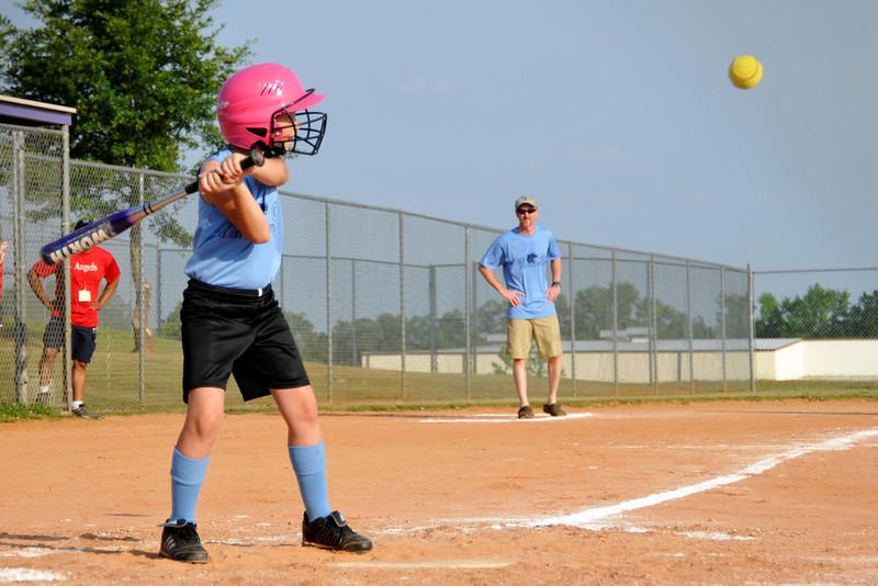 5 24 11 Angels vs. Panthers Girls Softball