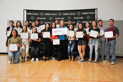 April 2019 UTEP Scholarship Pebble Hills