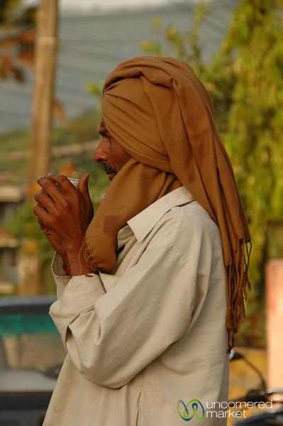 Warming Up with Tea - Pokhara, Nepal