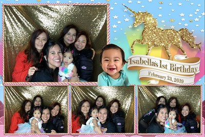 Isabella's 1st Birthday
