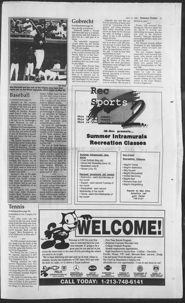 Summer Trojan, Vol. 131, No. 1, May 14, 1997