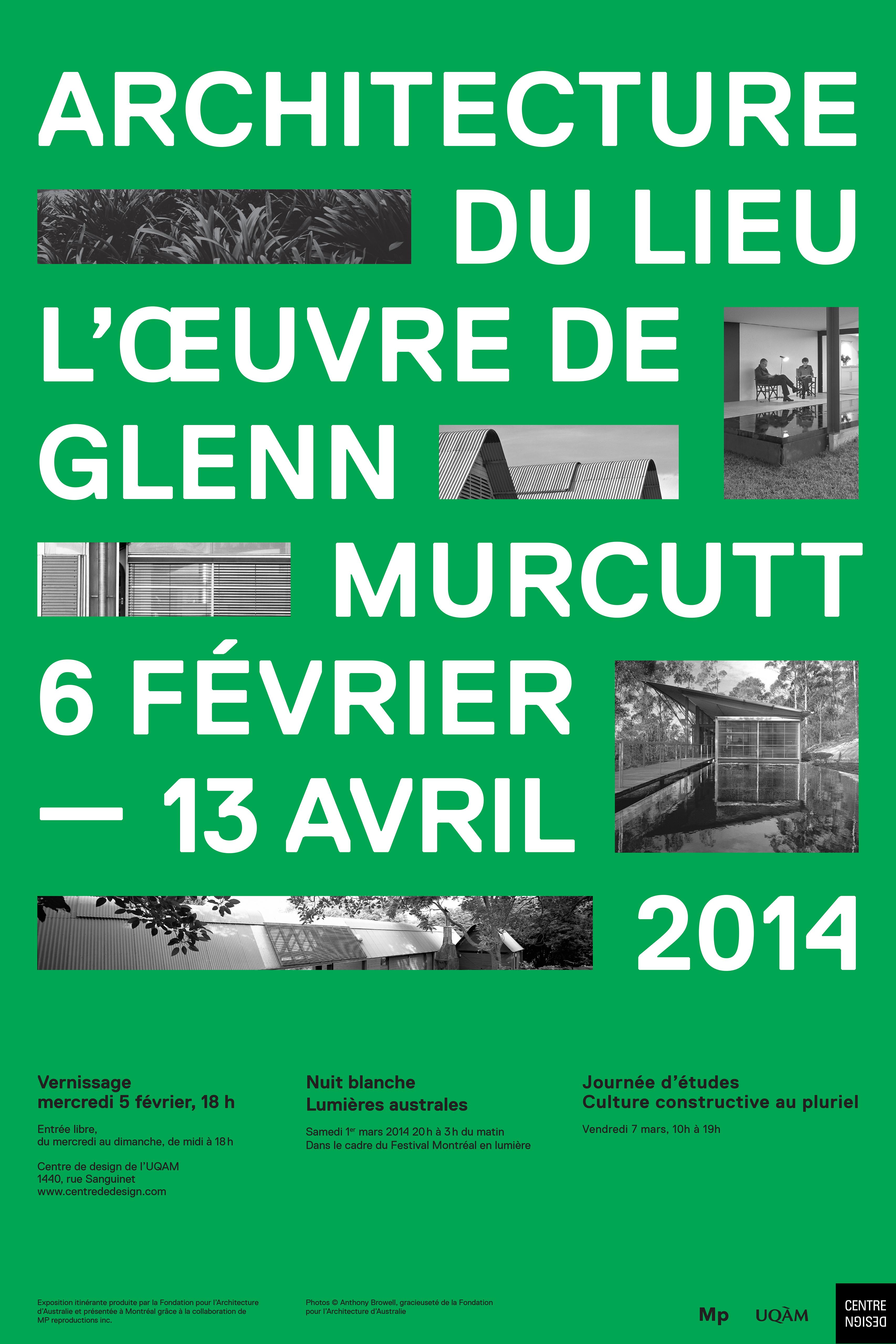 2014 - Exposition - Architecture du lieu l'oeuvre de Glenn Murcutt © Magali Rouleau-1