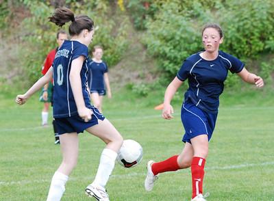 Scrimmage vs Overlake A team 24 Sept 2010