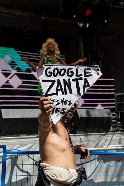 Zanta Resurfaces At Pride!