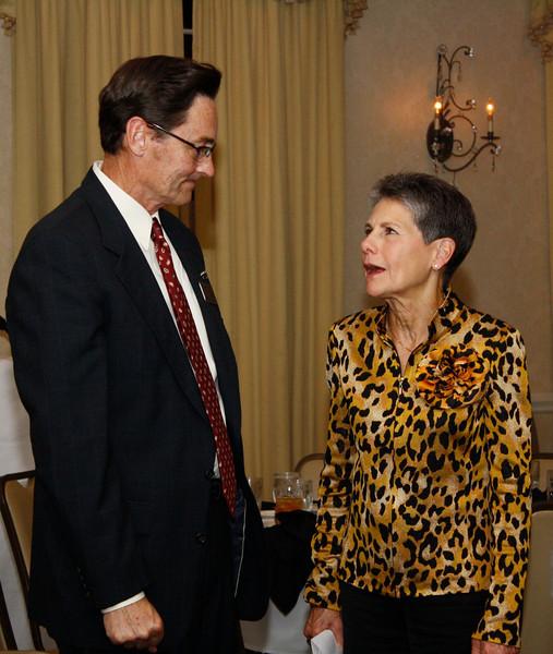 Monte Walker and Flossie Bonner