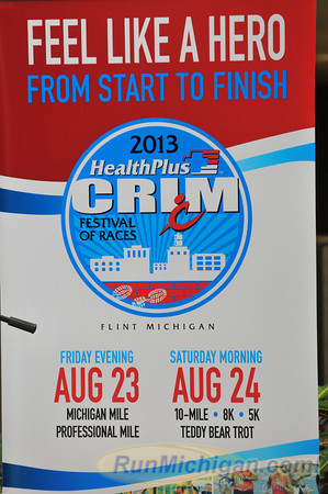 Pre-race Press Event - 2013 HealthPlus Crim Festival of Races