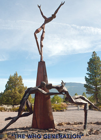 Sculpture Garden-north of Mt. Shasta  3518
