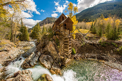 Historic Crystal Mill. Elk Range, CO