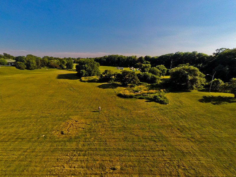 High-noon Summer at the Park 32 : Aerial Photography from Project Aerospace