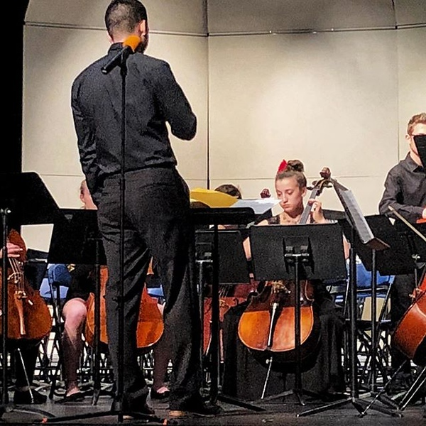 Spring orchestra concert.