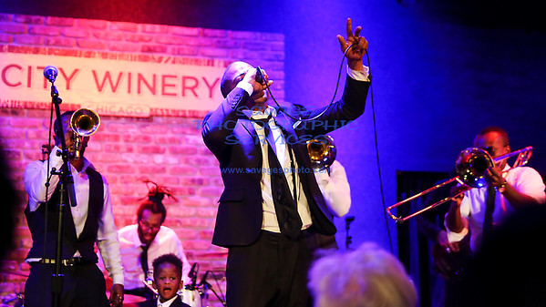 Hypnotic Brass Ensemble @ City Winery 4-23-17