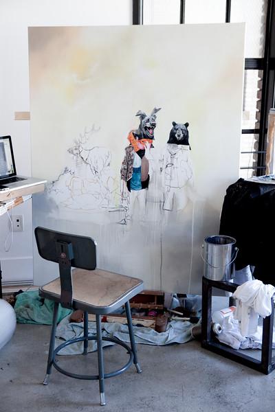 Joram Roukes Studio Visit