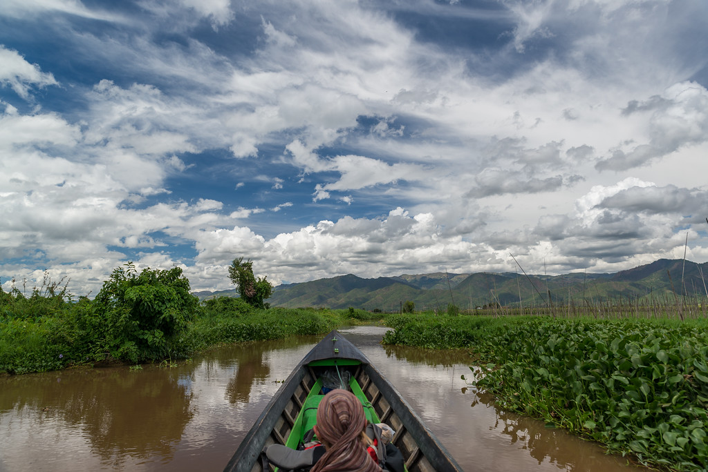 inle lake to kalaw trekking