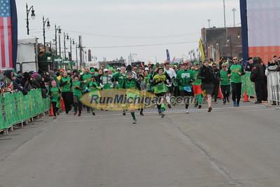 5K Start Wave 3 - 2015 St. Patrick's Parade Corktown Races