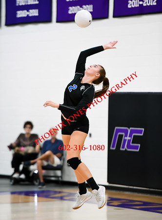 8-31-17 - Northwest Christian vs Valley Christian Varsity Volleyball Game