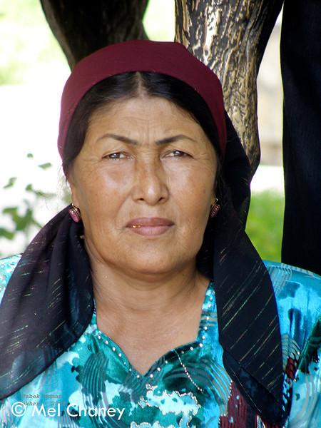 No. 5 P7250477   Uzbek Woman 7.5 x 10.jpg