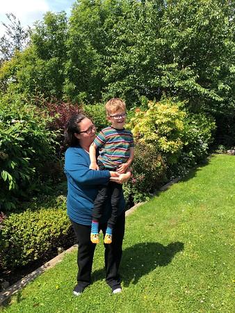 Beccy, Duncan & Thomas Isle of Man Visit July 2019