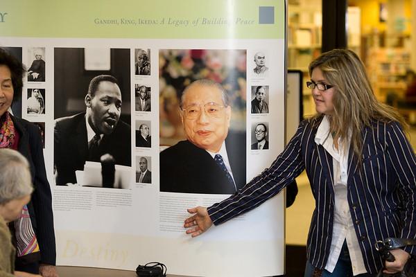 Gandhi King Ikeda Exhibit