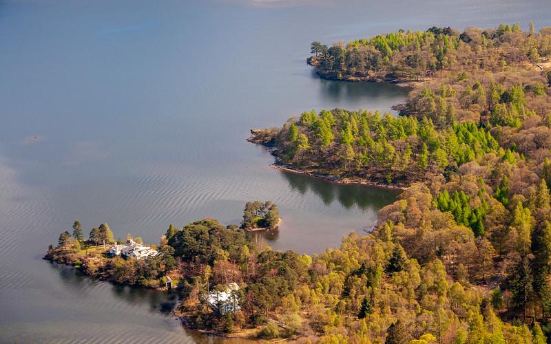 Brandelhow Point in Derwent Water