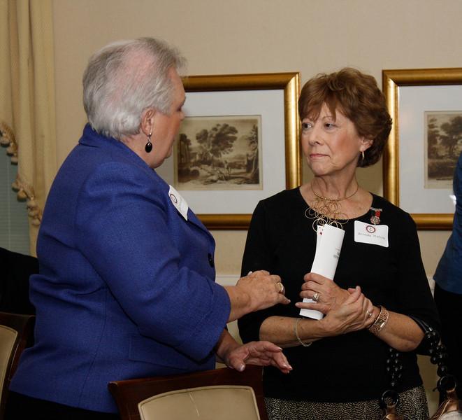 Shirley Alexander and Brenda Watson