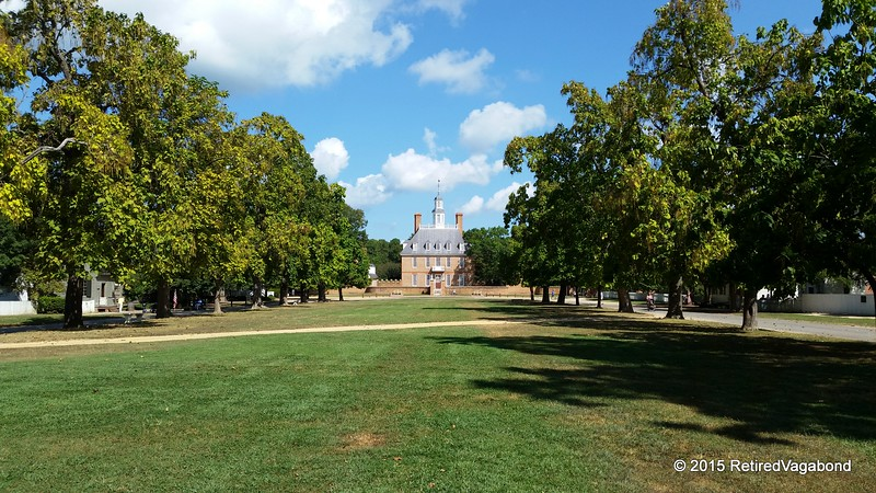 Williamsburg Governors Palace 1706