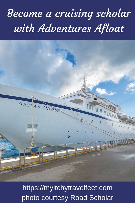Become a cruising scholar with Adventures Afloat.
