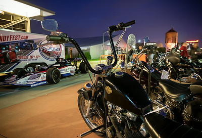 HD museum Bike Night - IndyFest 8-14-14