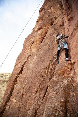 Climbing Smith with Alaskan Friends