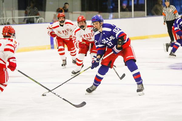 Boys' Varsity Hockey vs. St. Paul's   January 15