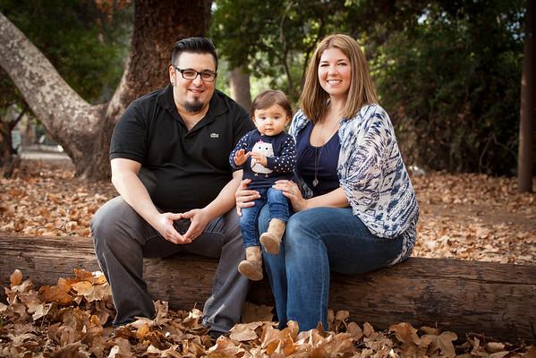 Davila Family and Mila 1 year pics