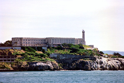 Alcatraz Light, California