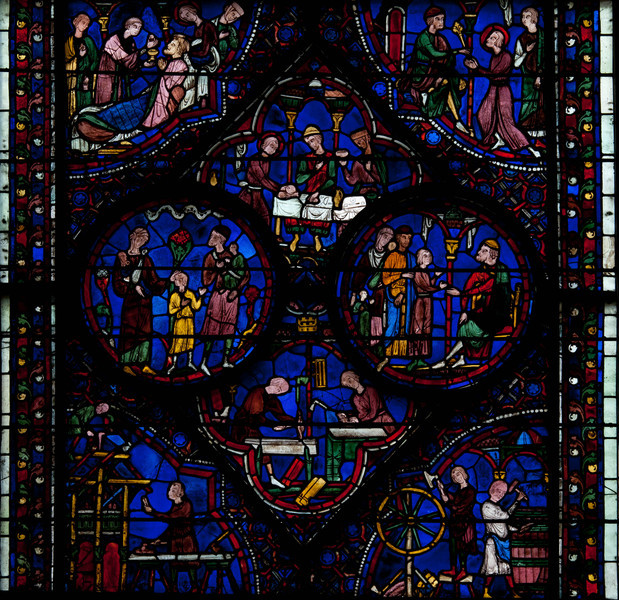 Chartres Cathedral, The Story of St Julian the Hospitalier