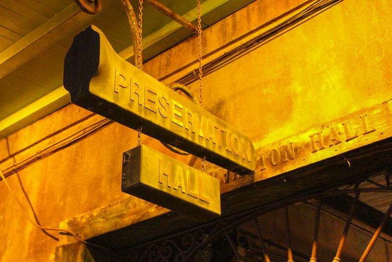 Preservation Hall...