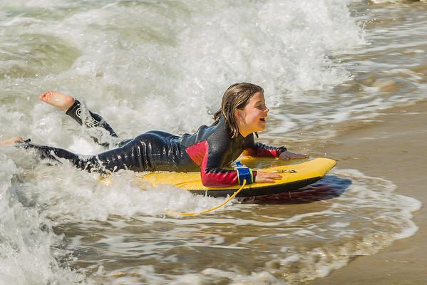 Capitola California Surf Girls