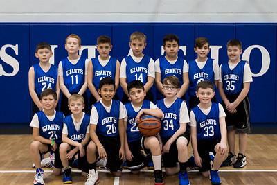 Visitation 4th grade basketball