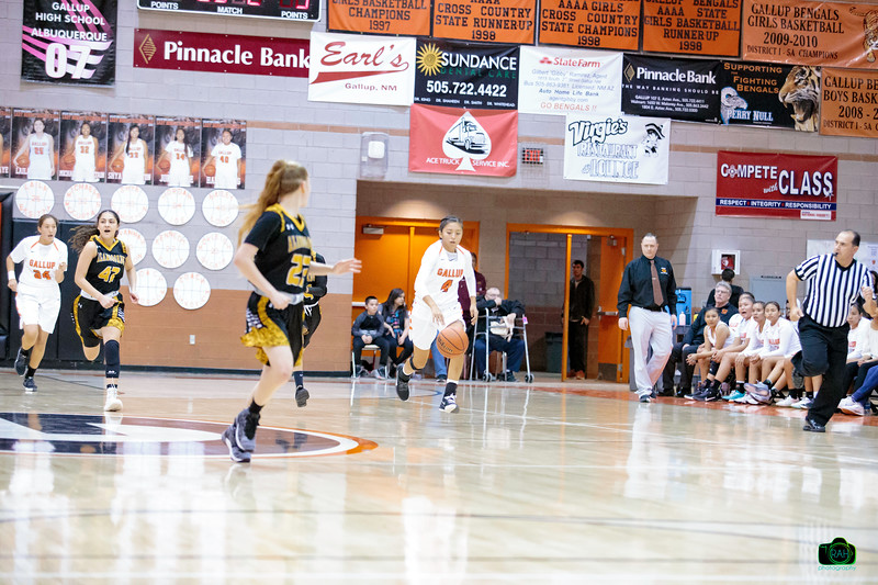 GHS vs Alamogordo Girls Basketball 12-6-2019