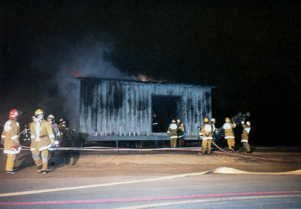 Train Shed Fire 1984