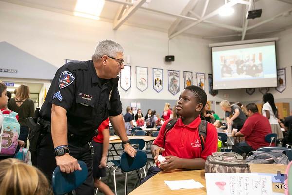 St. Joseph School honors first responders