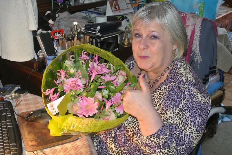'RONNY & PASCAL' Bloemen voor Maintje 2012-11-11 03.JPG