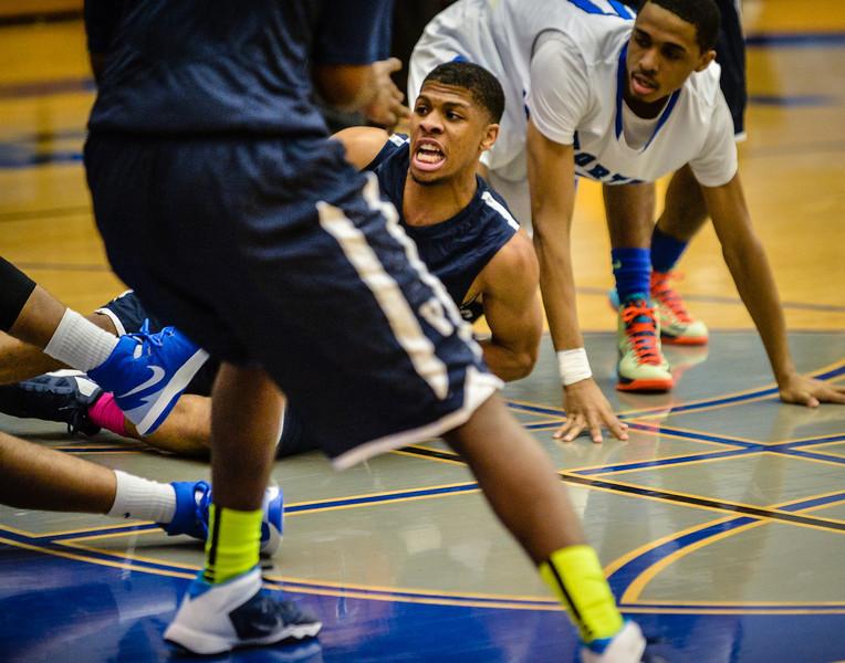 Basketball Boys Varsity vs  Lamar 01-21-14-23