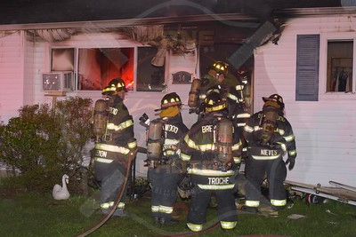 Brentwood F.D. Signal 13   20th Ave. 4/19/17