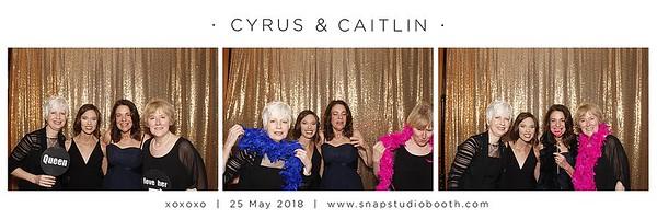 2018-05-25 Cyrus & Caitlin's  Wedding
