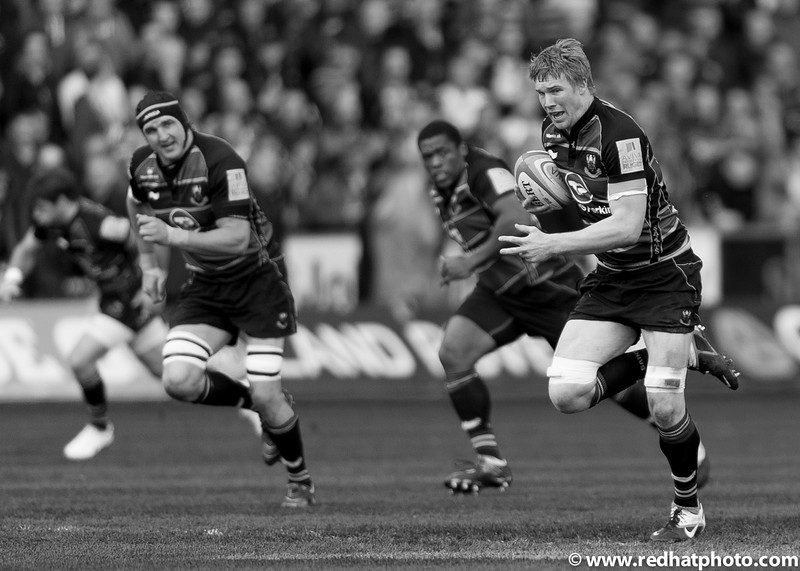 Northampton Saints - Season in black and white - 2012