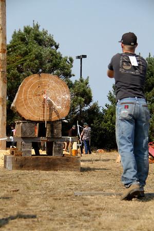 Logging Show: Ax Throw