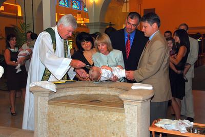 Ryan Mowery Baptism October 2009
