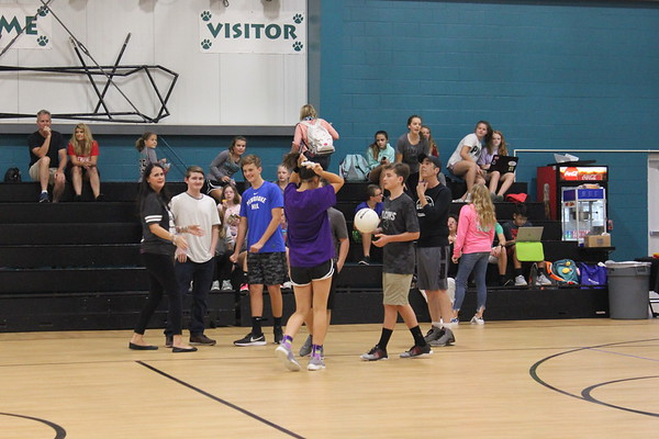 Alumni/Faculty Volleyball Game 2018