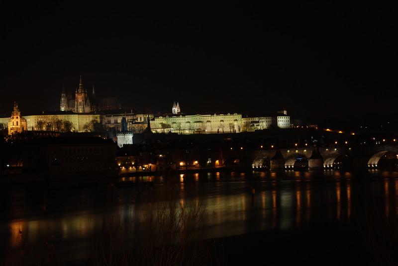 Prague Night Scene Near Water 27.JPG