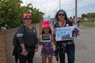 Women's March Miami 1-21- 2018