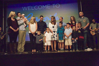 Baby Dedication March 15, 2014